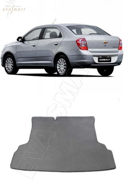Chevrolet Cobalt II коврик в багажник 2011 - н.в. EVA Smart
