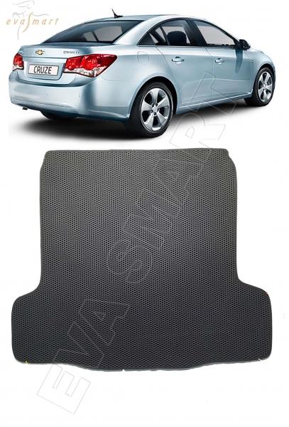 Chevrolet Cruze I седан 2009 - н.в. коврик в багажник EVA Smart