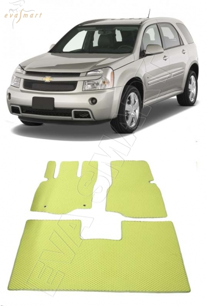 Chevrolet Equinox 2004 - 2009 коврики EVA Smart