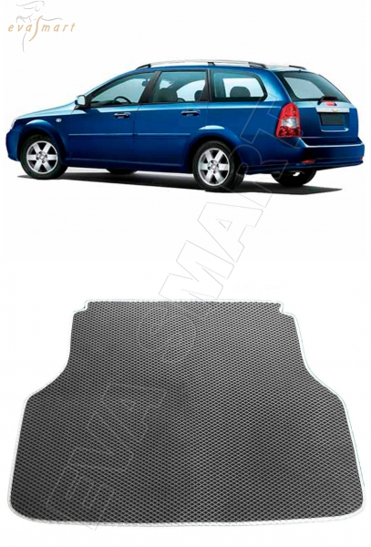 Chevrolet Lacetti багажник  универсал 2004 - 2013 Автоковрики 'EVA Smart'