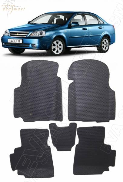 Chevrolet Lacetti вариант макси 3d 2004 - 2013 коврики EVA Smart