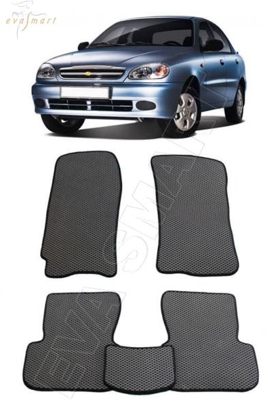 Chevrolet Lanos 2005 - н.в. коврики EVA Smart