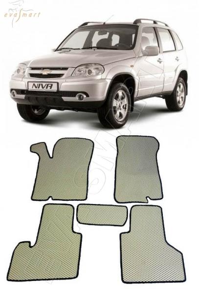 Chevrolet Niva 2002 - 2009 Автоковрики 'EVA Smart'
