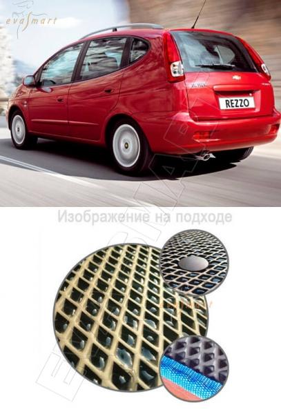 Chevrolet Rezzo 2004 - 2010 минивэн Коврик багажника EVA Smart