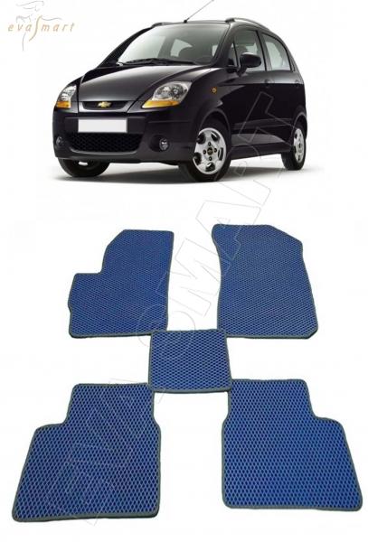 Chevrolet Spark II 2005 - 2009 Автоковрики 'EVA Smart'