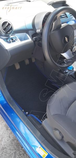 Chevrolet Spark III 2010 - 2015 коврики EVA Smart