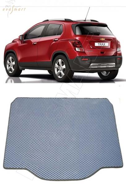 Chevrolet Tracker  2015 - Коврик багажника EVA Smart