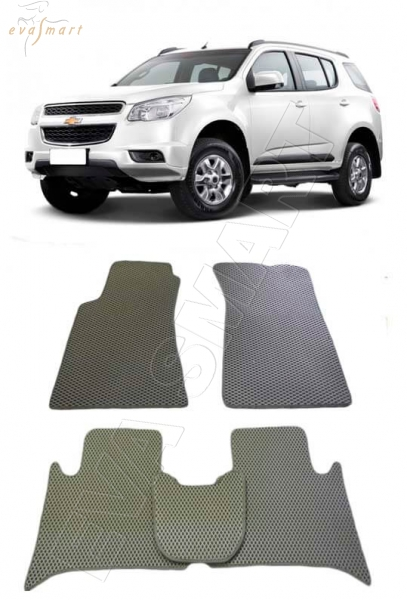 Chevrolet TrailBlazer 2013 - н. в. Автоковрики 'EVA Smart'