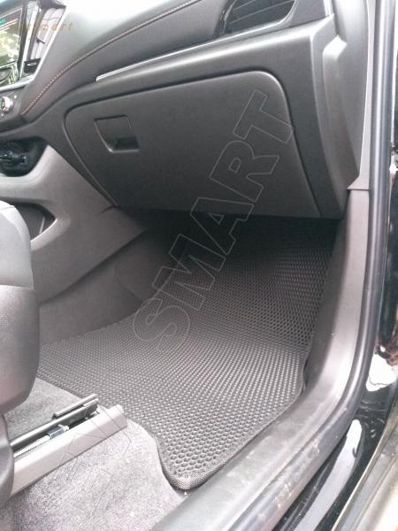 Chevrolet Traverse II кроссовер 7 мест 2017 - н.в. коврики EVA Smart