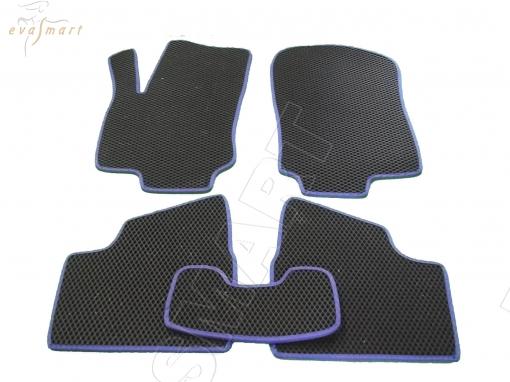 Chevrolet Viva 2004 - 2008 коврики EVA Smart