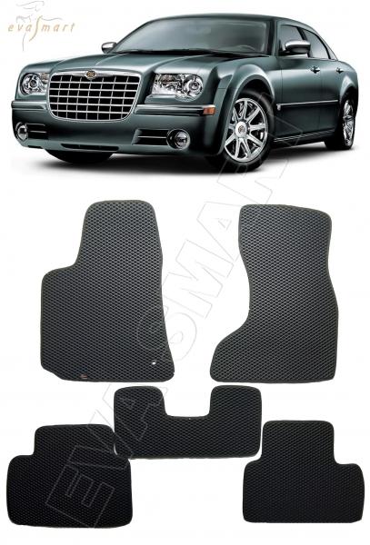 Chrysler 300C 2008 - 2011 коврики EVA Smart