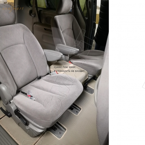 Chrysler Town Country IV 2000 - 2005 коврики EVA Smart