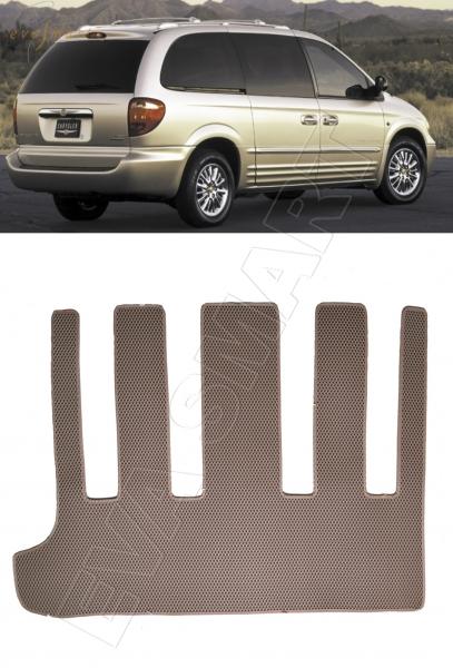 Chrysler Town Country IV 2000 - 2005 коврик в багажник EVA Smart