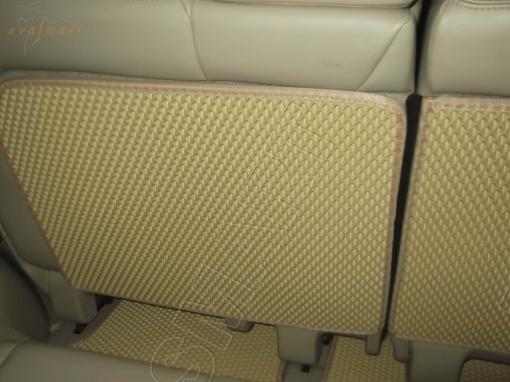 Nissan Pathfinder IV (R52) 7 мест 2014 - н.в. коврик в багажник макси EVA Smart