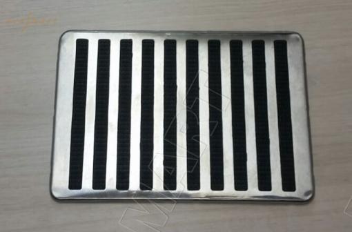 Подпятник металлический (на пластиковой основе)