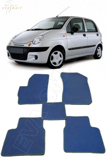 Daewoo Matiz 2000 -  н. в. Автоковрики 'EVA Smart'