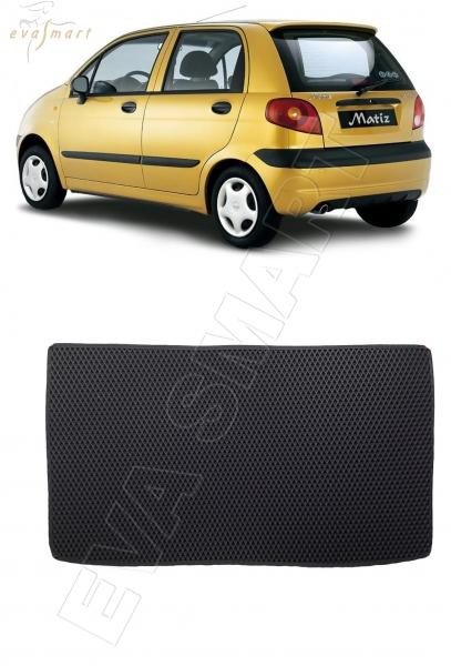 Daewoo Matiz коврик в багажник 2000 - н.в. EVA Smart