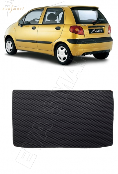 Daewoo Matiz 2000 - н.в. коврики EVA Smart