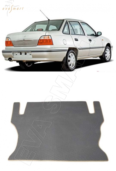 Daewoo Nexia коврик в багажник 1995 - 2016 EVA Smart