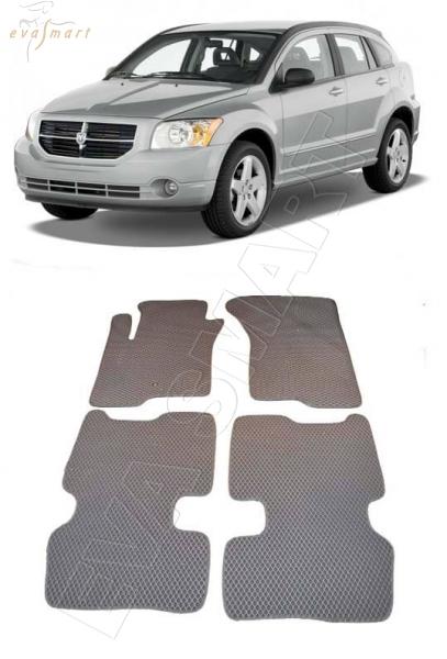 Dodge Caliber 2006 - 2009 коврики EVA Smart