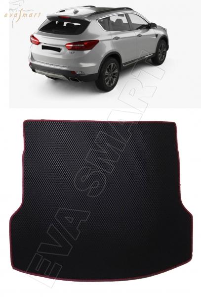 DongFeng AX7 коврик в багажник 2015 - н.в. EVA Smart