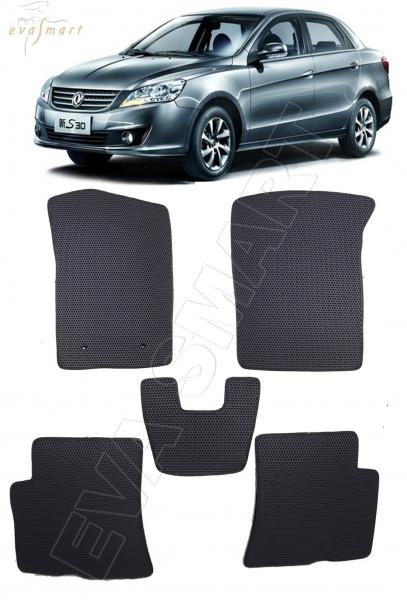 DongFeng S30 2013 - 2017 коврики EVA Smart