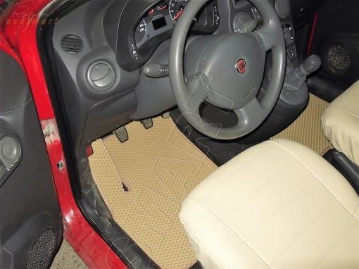 Fiat Panda II 2003 - 2012 коврики EVA Smart