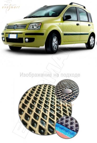 Fiat Panda II 2003 - 2012 Автоковрики 'EVA Smart'