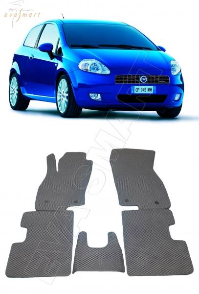 Fiat Punto 2009 - 2012 3d Автоковрики 'EVA Smart'