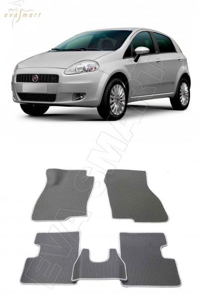 Fiat Punto Grande III хэтчбек 2005 – 2009  Автоковрики 'EVA Smart'