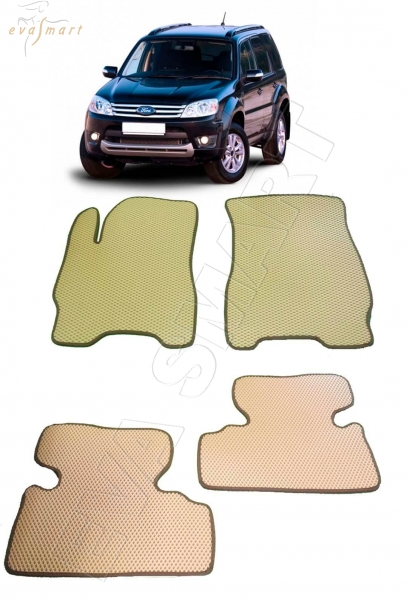 Ford Escape II 2007 - 2012 коврики EVA Smart