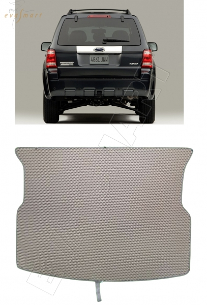 Ford Escape II 2007 - 2012 Гибрид коврик в багажник EVA Smart