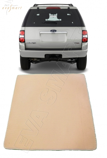 Ford Explorer IV багажник 2006 - 2010 Автоковрики 'EVA Smart'