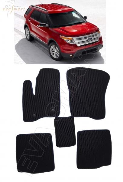Ford Explorer V 2011 - 2015 коврики EVA Smart
