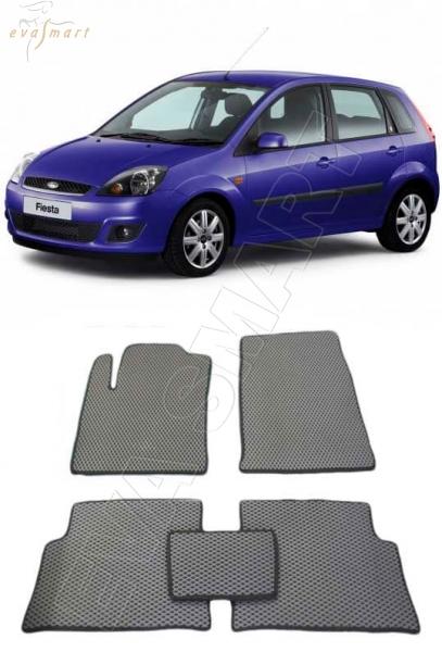 FordFiestaV 2002 - 2008 Автоковрики 'EVA Smart'