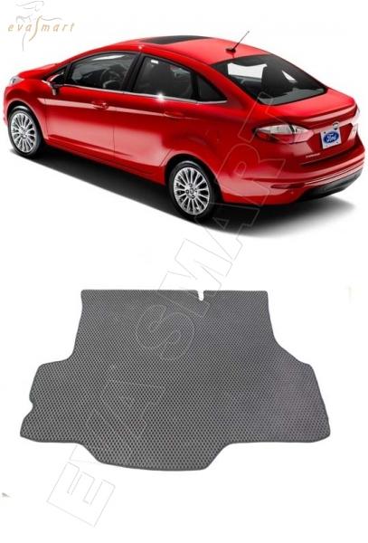 FordFiestaVII багажник 2017 - н. в. Автоковрики 'EVA Smart'