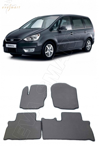 FordGalaxy Минивэн II 2006 -2010  Автоковрики 'EVA Smart'