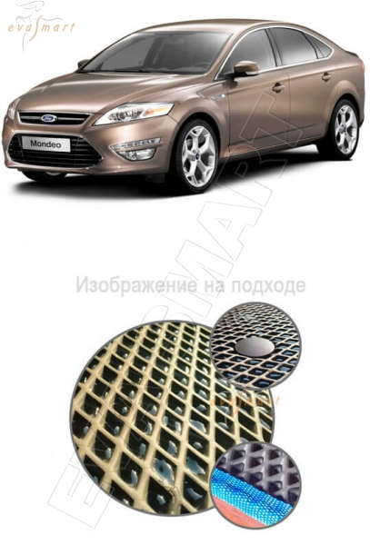 Ford Mondeo IV хетчбек 2010 - 2015 Автоковрики 'EVA Smart'