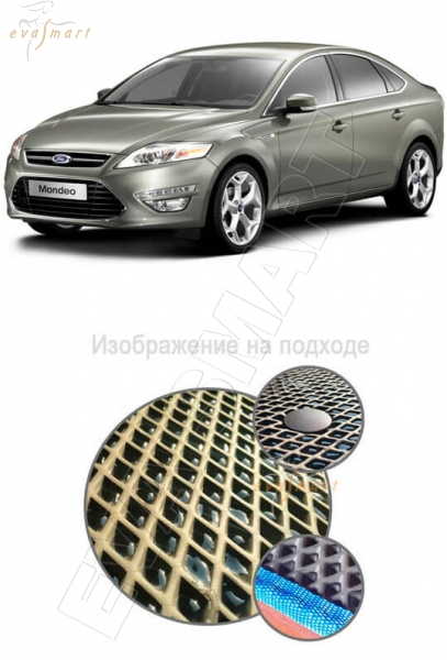 Ford Mondeo IV 2010 - 2015 Автоковрики 'EVA Smart'