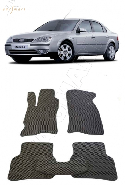 Ford Mondeo III 2000 - 2007 коврики EVA Smart