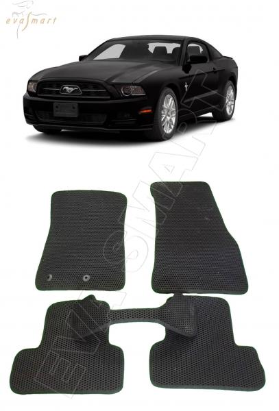 Ford Mustang 2011 - 2014 Автоковрики 'EVA Smart'