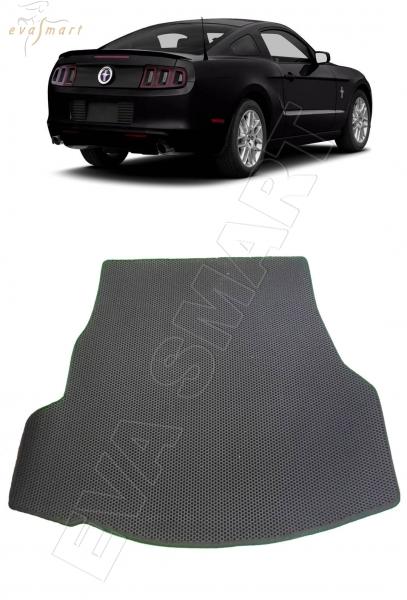 Ford Mustang багажник 2011 - 2014 Автоковрики 'EVA Smart'