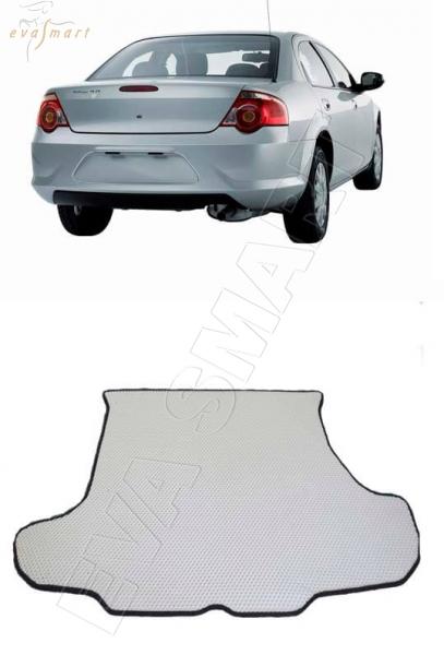 Газ Volga Siber 2008 - 2010 коврик коврик в багажника EVA Smart