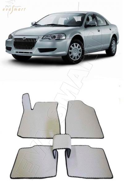 Газ Volga Siber 2008 - 2010 коврики EVA Smart
