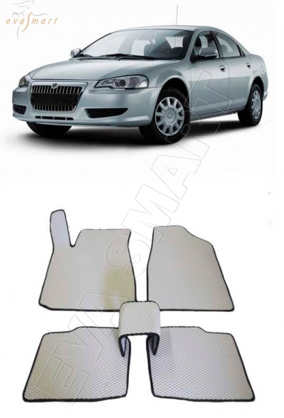 Газ Volga Siber 2008 - 2010 Автоковрики 'EVA Smart'