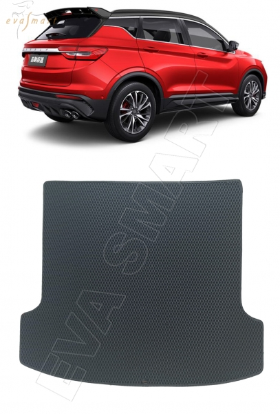 Geely Coolray 2020 - н.в. коврик в багажник EVA Smart