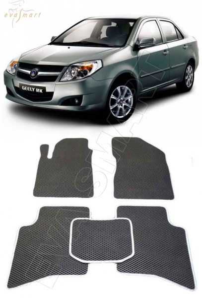 Geely MK I 2006 - 2015 коврики EVA Smart