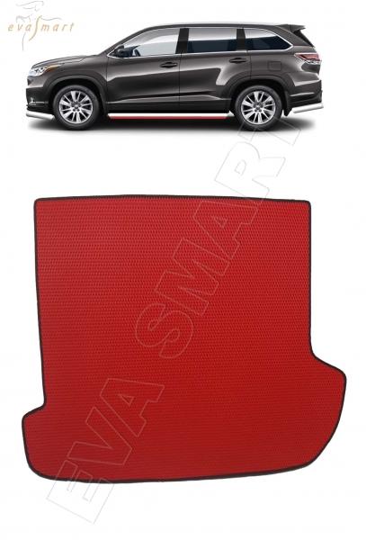 Great Wall Hover (H3, H5) коврик в багажник 2010 - 2016 EVA Smart
