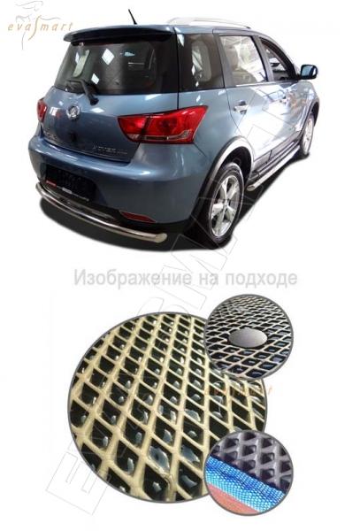 Great Wall Hover М4 кроссовер 2013 - 2016 Коврик багажника EVA Smart