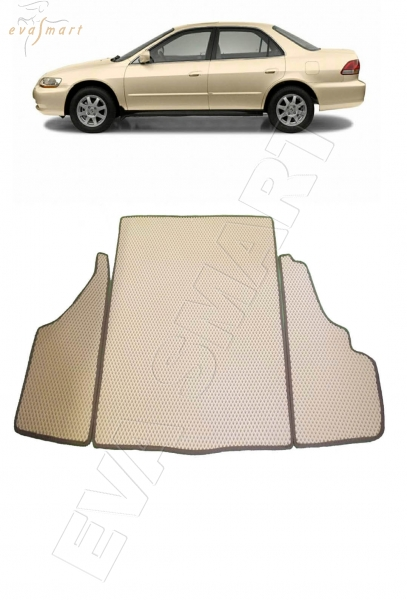 Honda Accord VI 1997 - 2002 коврики EVA Smart
